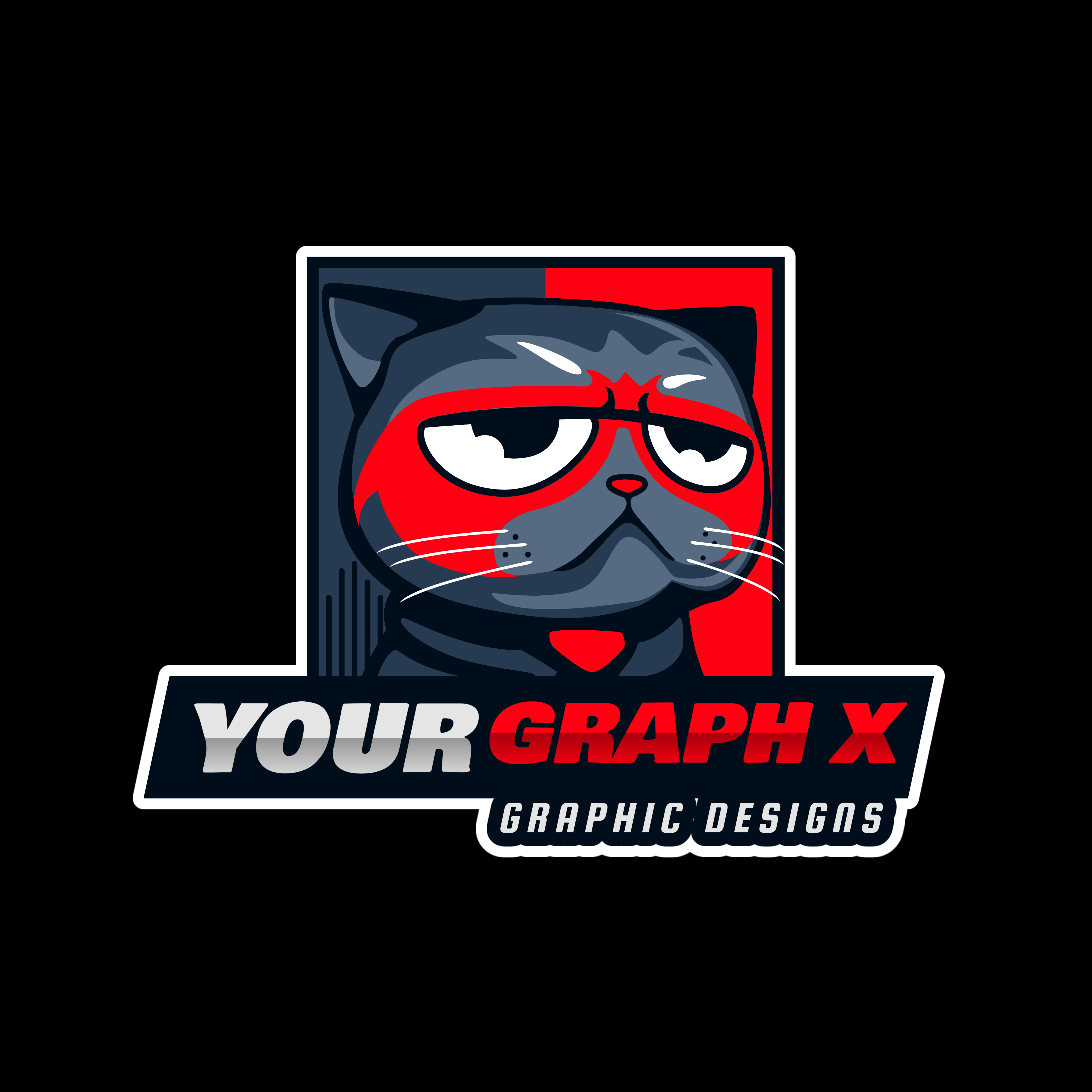 I will make you a twitch or mixer static or animated logo