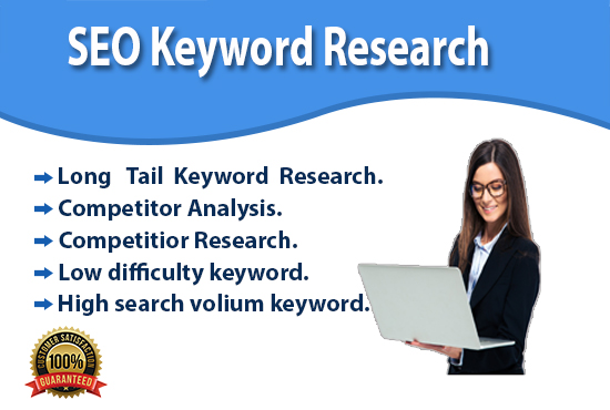 I will do HQ SEO keyword research and competitor analysis
