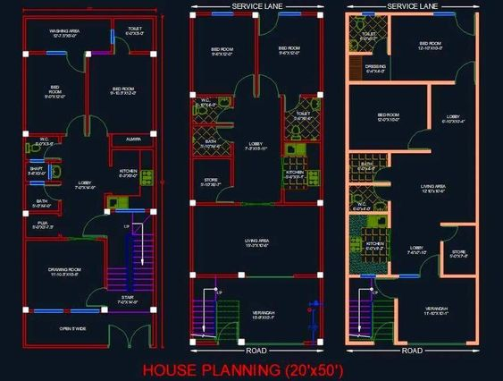 I'm an autoCAD expert and have full command over planning and designing of 2D house plans & layouts.