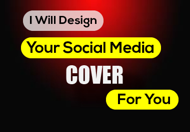 I Will Design Your Social Media Cover For You