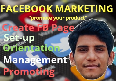 i will do facebook marketing for your fb business page