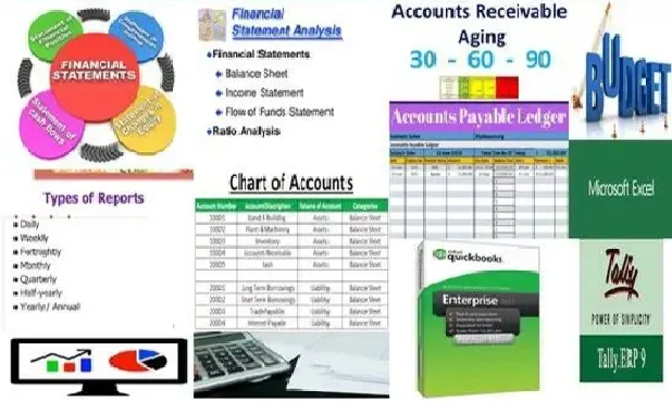 I will do QuickBooks,  accounting,  bookkeeping and tally sheet,  projects