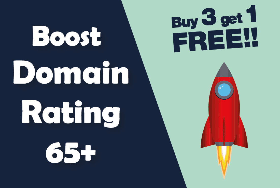 I will increase domain rating,  increase ahrefs DR,  increase DR 50 plus