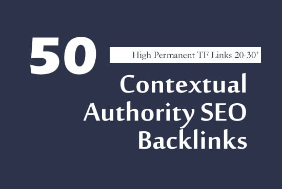 I will manually build40 high tf cf dofollow trusted SEO backlinks