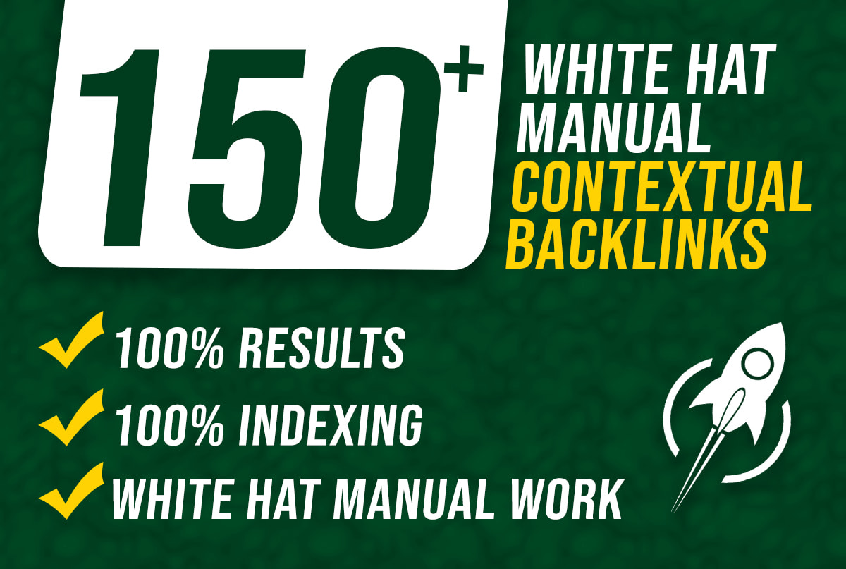 I will do contextual dofollow high quality backlinks white hat seo