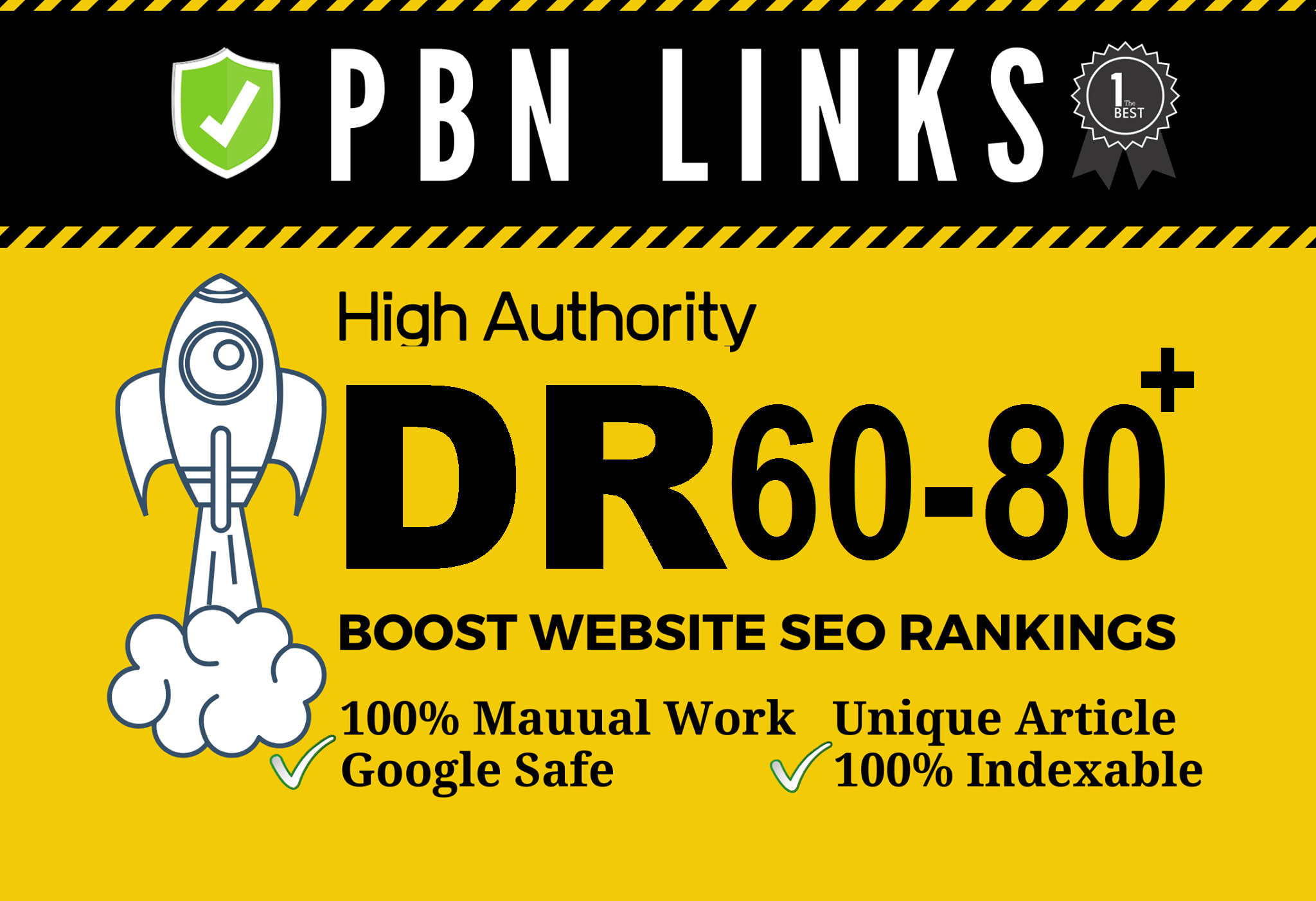 I will provide 30 seo dofollow DR 60 to 80 high quality backlinks