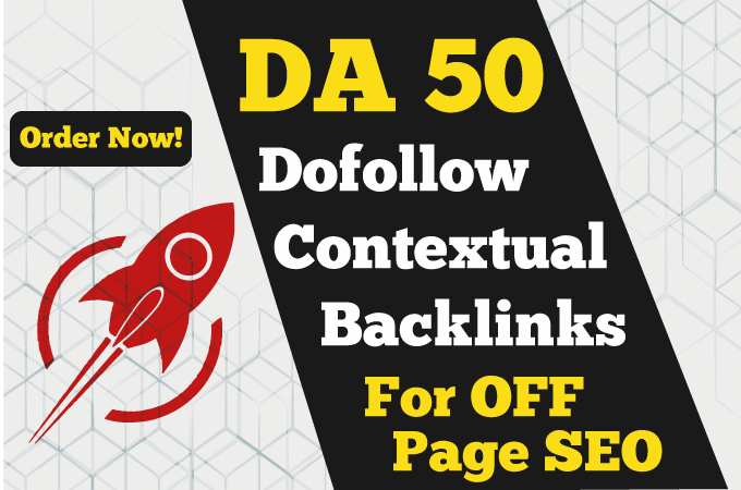 build 100 high quality dofollow SEO backlinks da 50 link building google top ranking