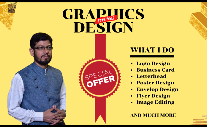 I will design Logo,  Business Card,  Poster and much more