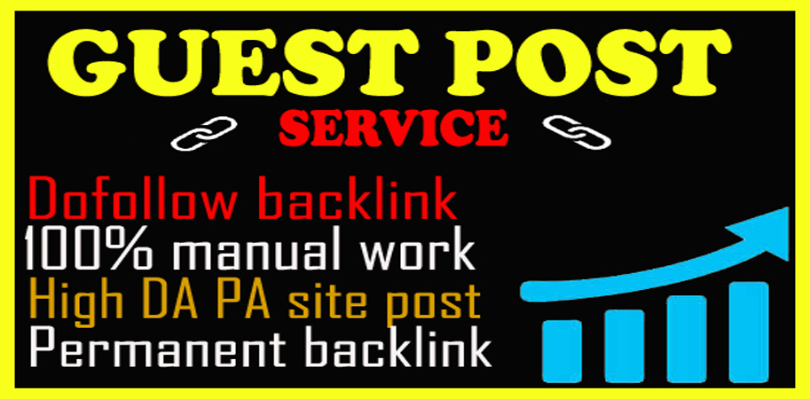 write and publish high quality 10 guest posts on permanent dofollow backlinks