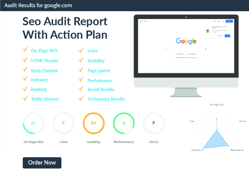Perfect SEO Audit Report with Action Plan