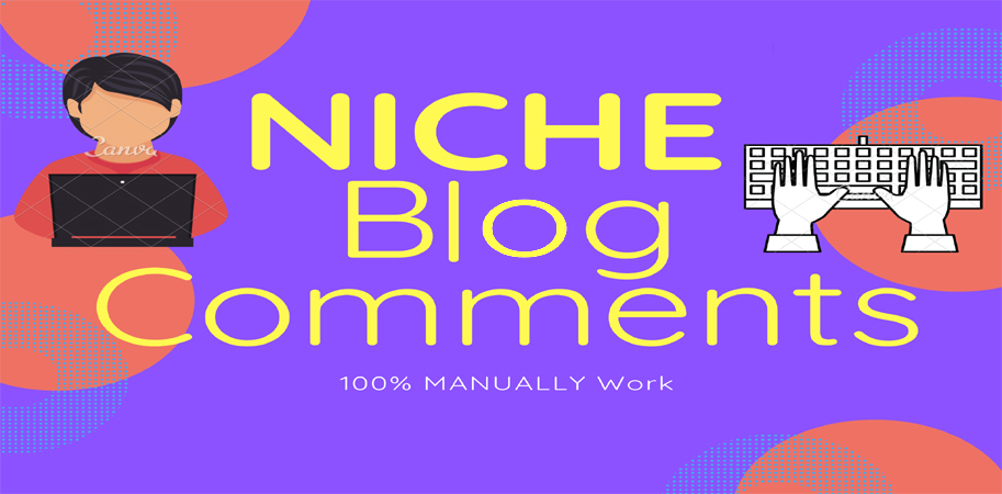 I Will Provide 50 Niche Blog Comments High Quality Back-links.