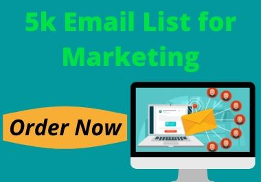 I will collect 5k Email list for your Business