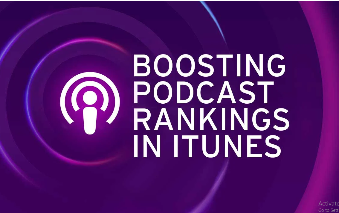I will do massive,  organic podcast promotion to boost audience listening