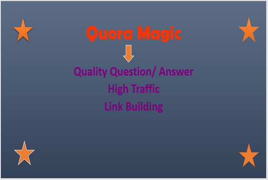 Promote Your Sites Through High Quality 20 Quora Answer