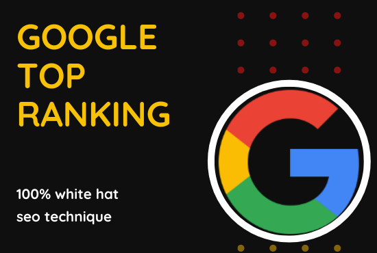 : Boost your ranking on Google in a few days Guaranteed
