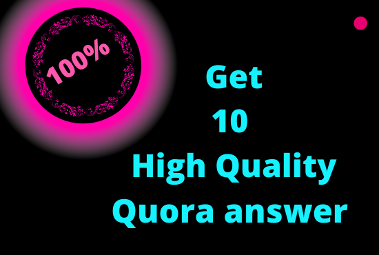 Promote your website 25 high quality quora answer