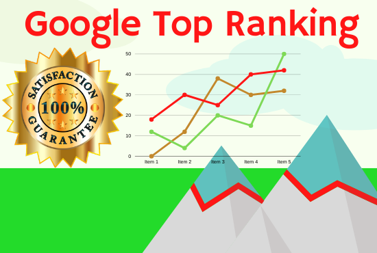 Ranking your website on Google First page with white hat methods