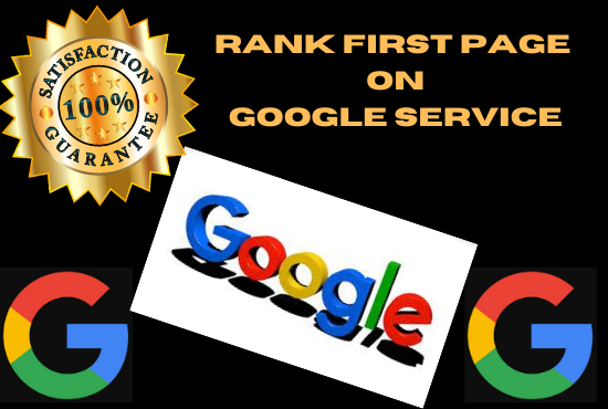I Will Ranking Your Website On Google First Page Guaranteed