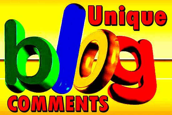 Give 60 Niche Relevant Blog Comments