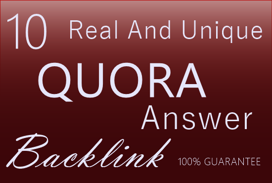 promote your website beautiful 10 QUORA Answer with image