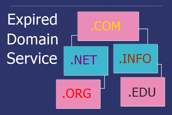 I will provide expired domain with authority backlinks