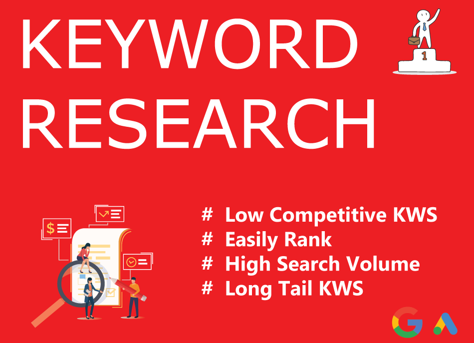 I will do best keywords research and competitors analysis