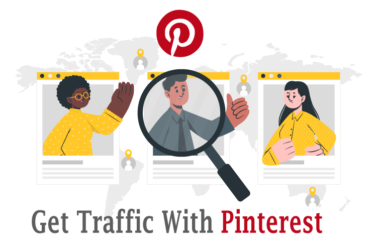 I will design beautiful pinterest pin for targeted traffic