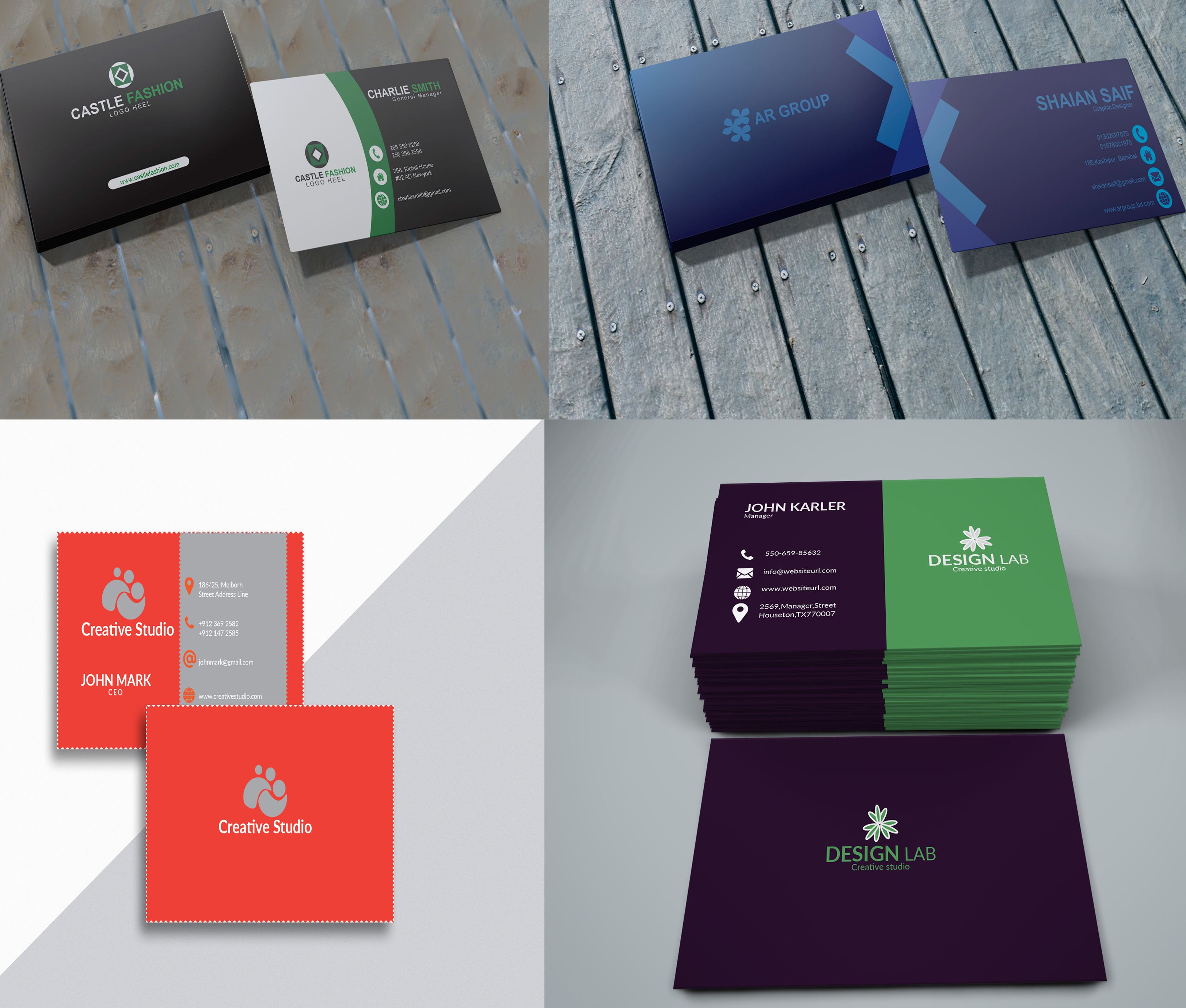 I will provide unique business card design