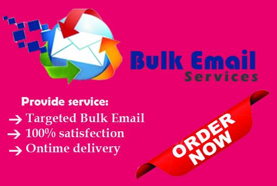 I will provide 2000 Targeted niche base bulk email