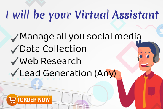 I can be your personal Virtual Assistant
