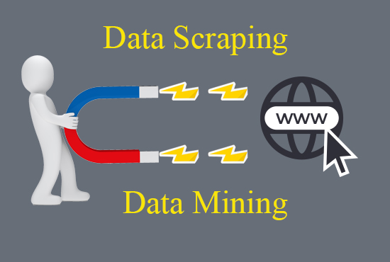 I will do web scraping and data scraping from any website