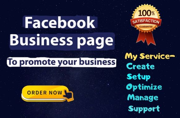 I will develop professional facebookl business page