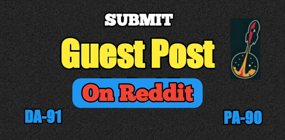 I will Publish 3 guest post on Reddit.