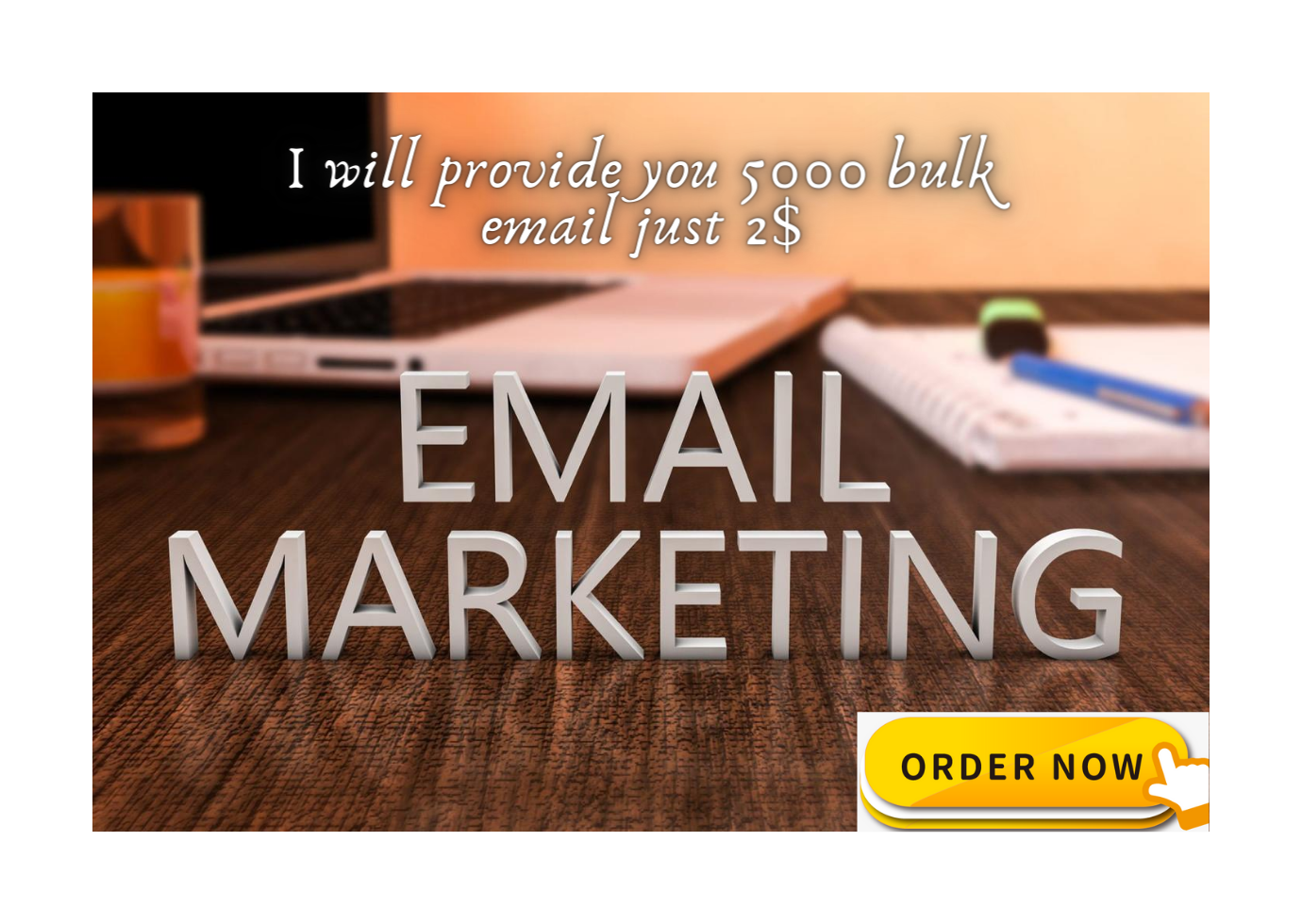 I will provide you 5000 niche base valid email list for your business