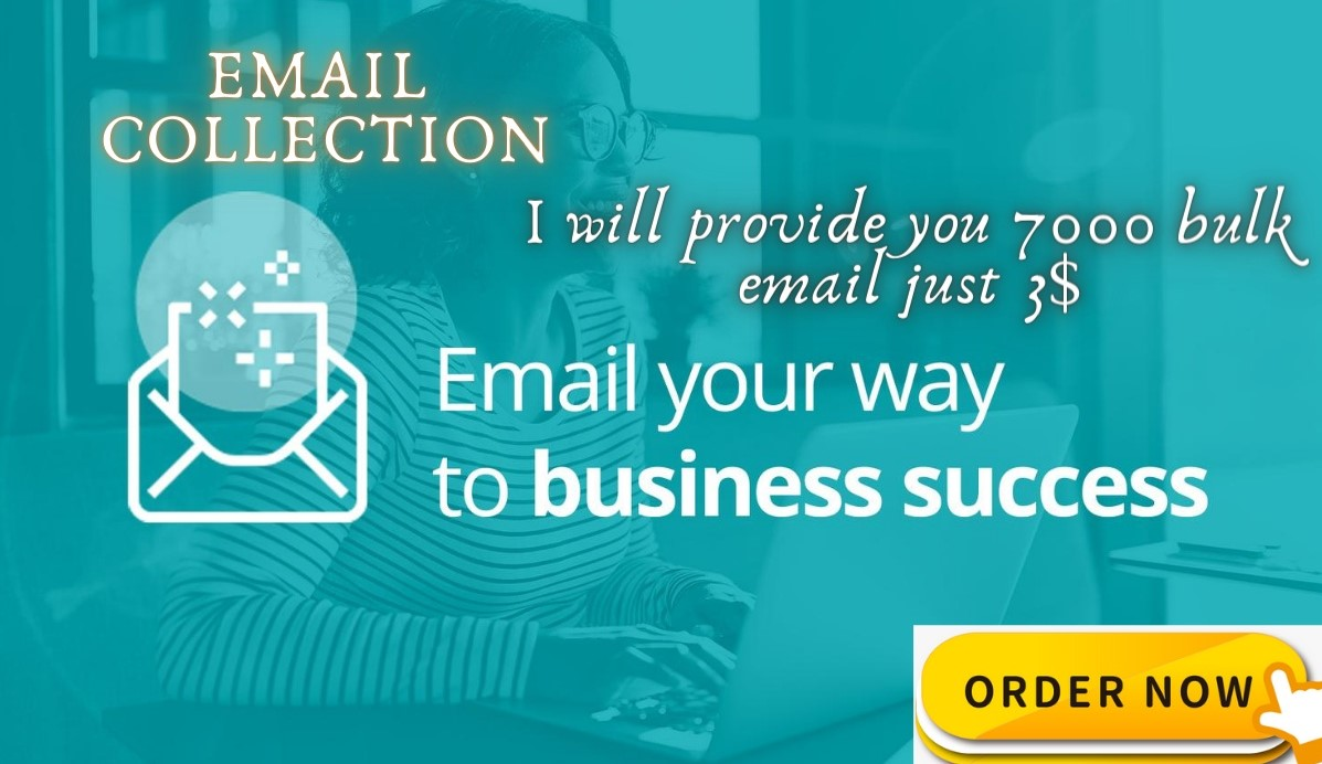 I will Collect 7000 targeted and niche base email for your business