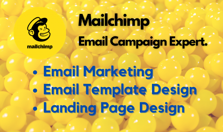I will design mailchimp email template,  and set up email campaign automation