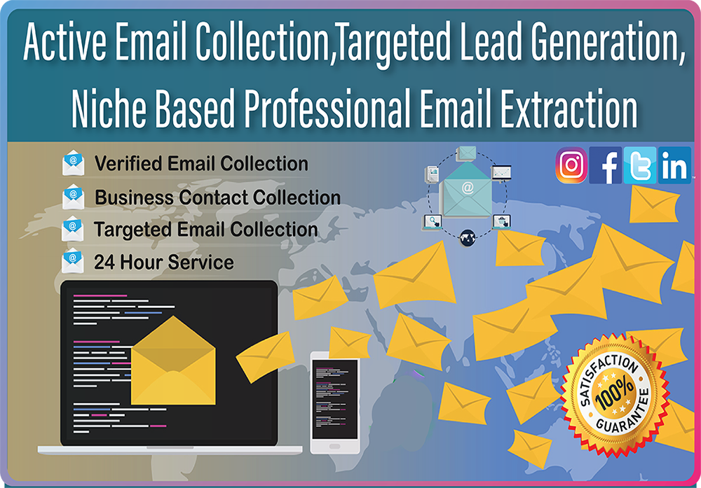 I will do active niche based 5,000 targeted email collection