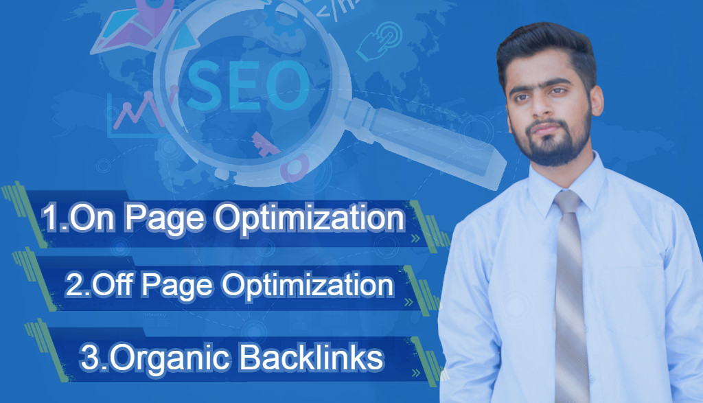I will give organic and potential ranks to your website by complete SEO