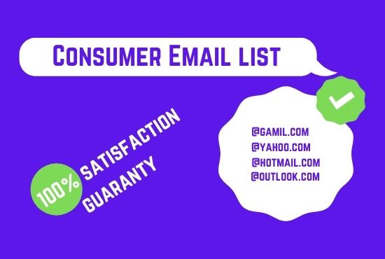 I'll provide a 1K consumer email list