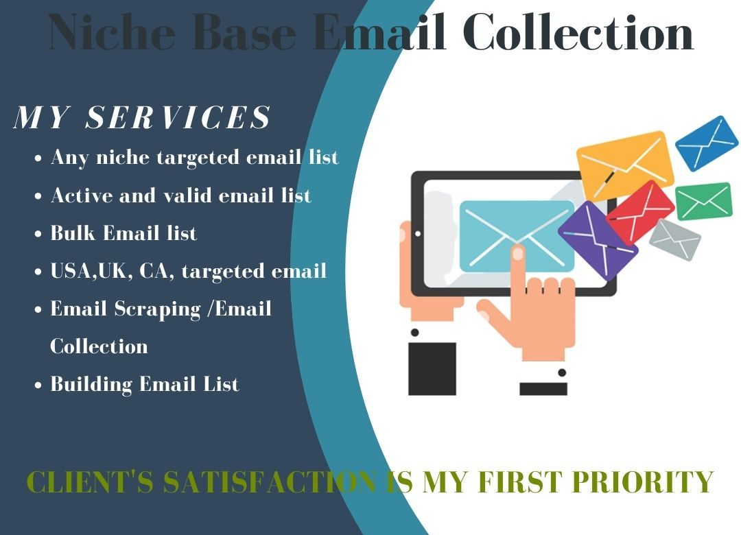 I Will Provide 5000 Niche Base Targeted Email List