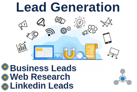 I will do targeted lead generation and web research