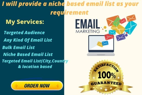 I will do email marketing for you.