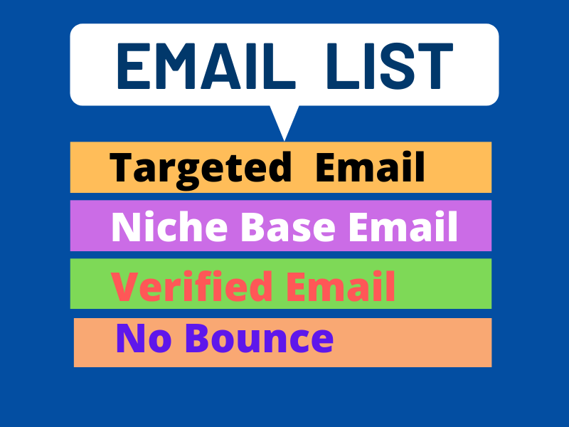 I will Collect 2k Targeted Email List by organic search