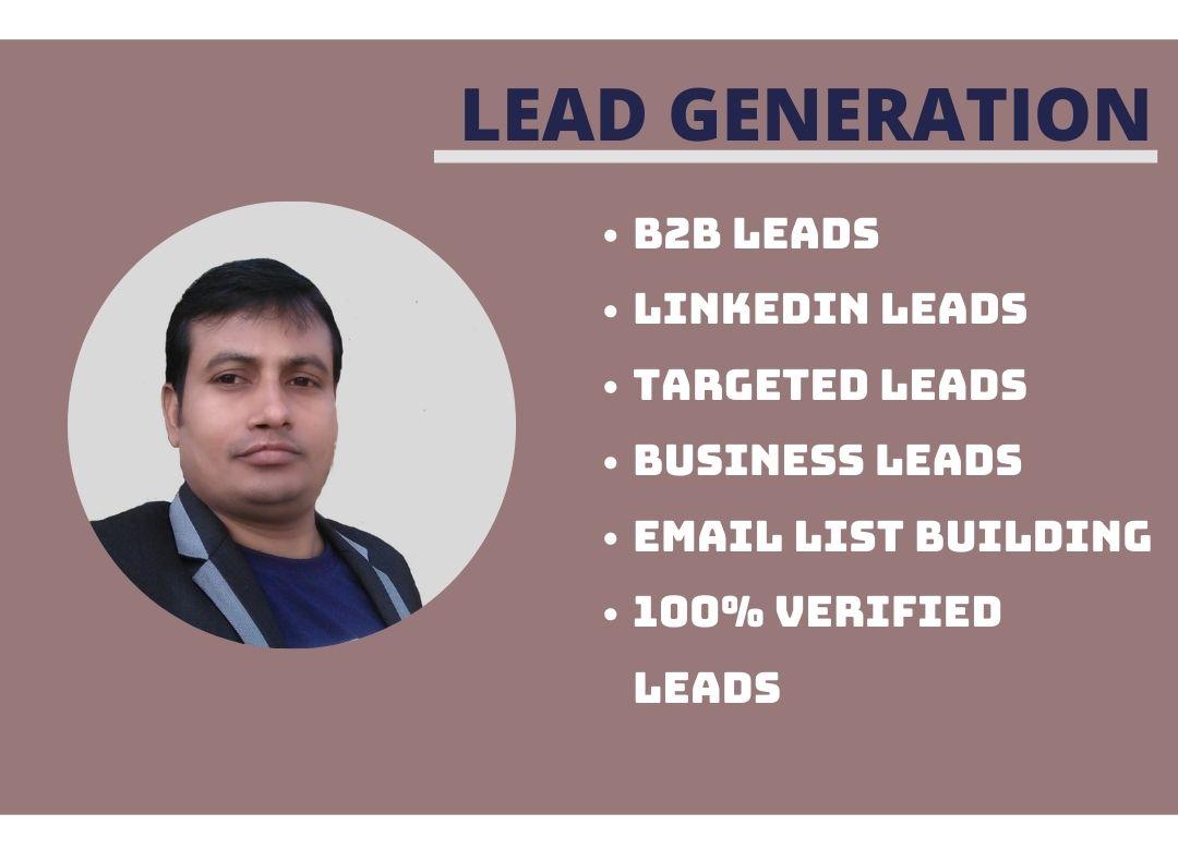 I will Provide B2B Lead Generation Service