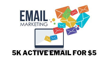 I will do 5k Email list for marketing business email customer email doctor email
