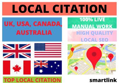 Manual Create 150 Google Maps Citation for Local SEO for Google Rank