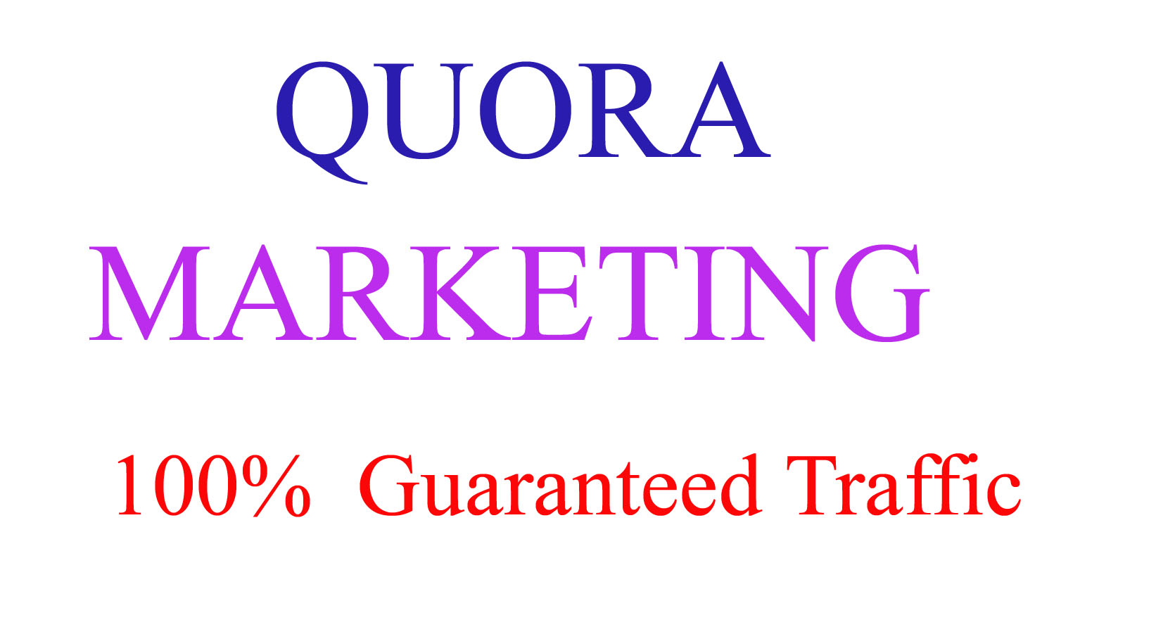 50 Quora Answer And 100% Organic Traffic