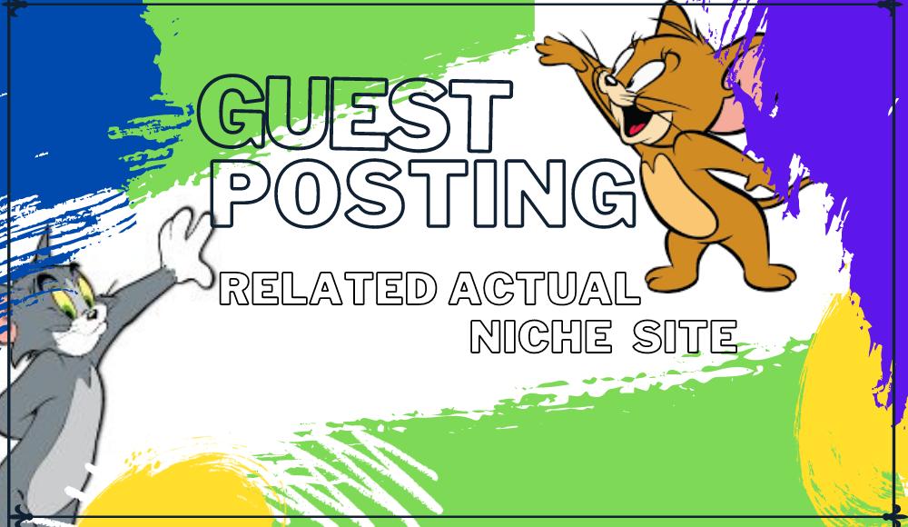 I Will Guest Post in an Actual Niche Site DA & PA 40 to 90
