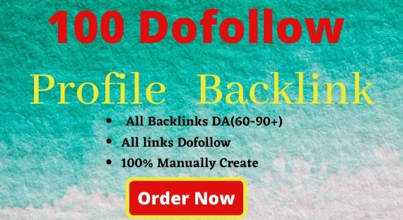 I will Create 100 manual high quality Do-Follow Backlinks.