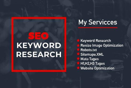 write killer SEO website keyword